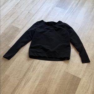 Lululemon black top size 8 guc